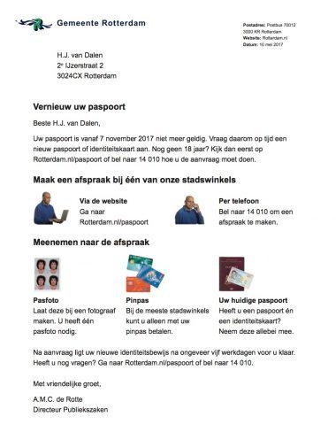 Afbeelding bij 'Paspoort aanvragen'