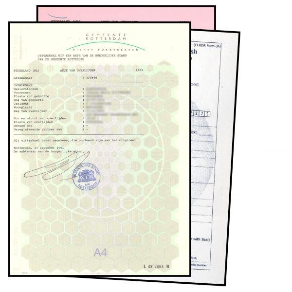 Afbeelding van verschillende documenten