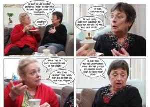 Fotostrip die patiënten ondersteunt in gesprekken met huisarts
